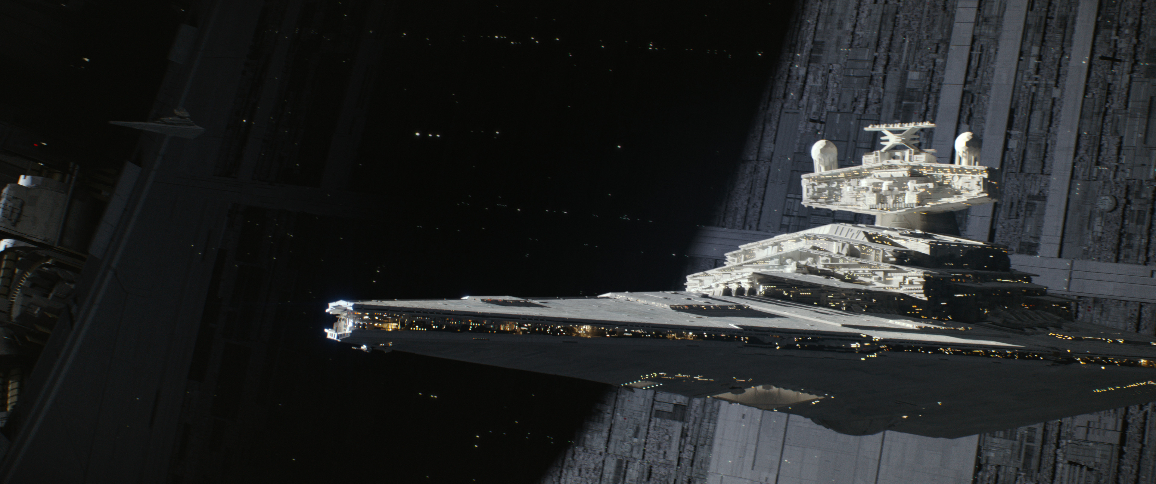 The classic Star destroyer