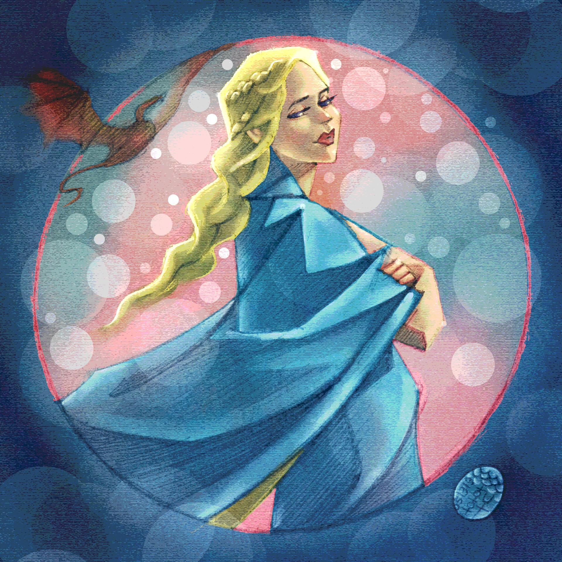 Eric lynx lin daenerys blue01