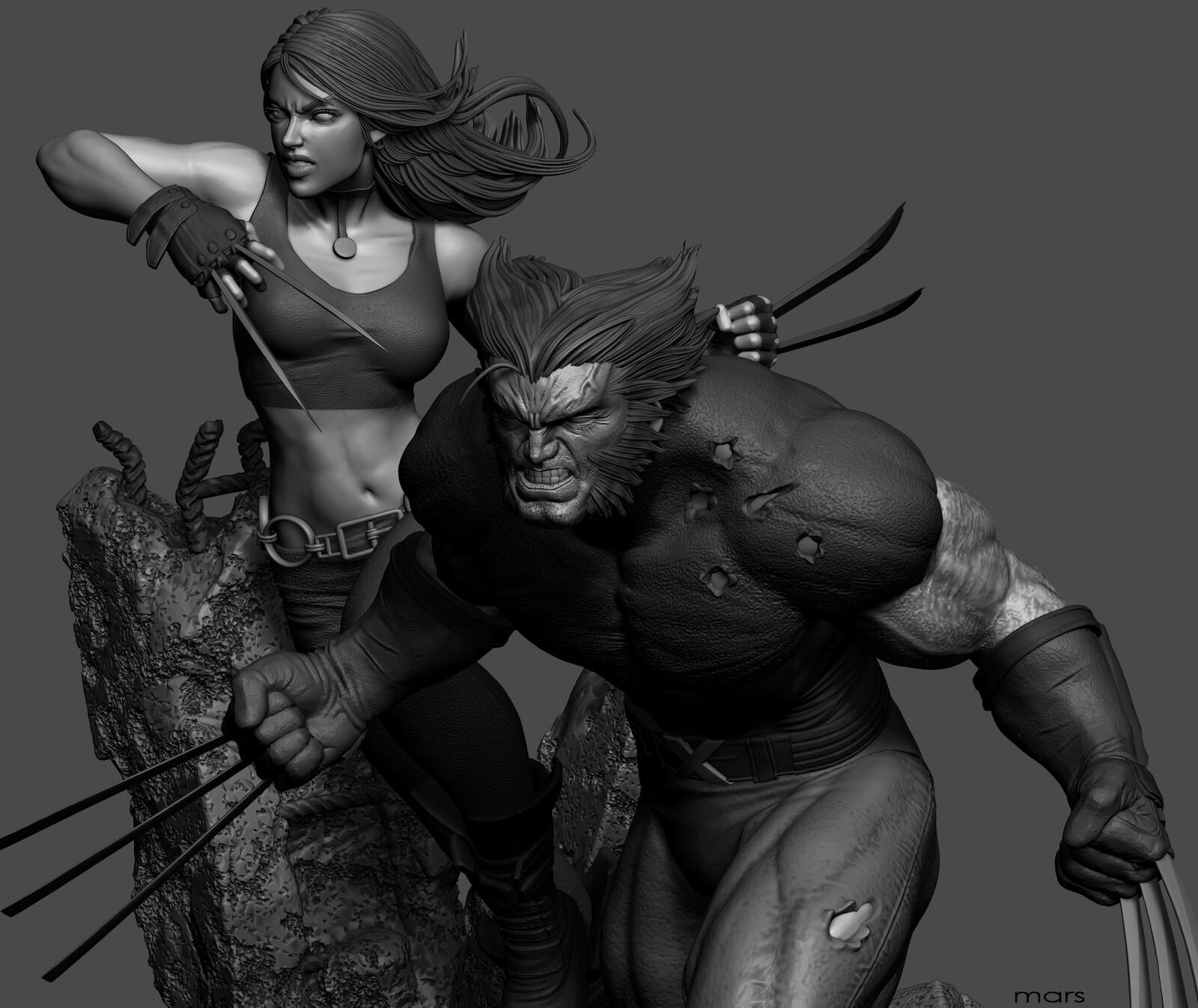 Wolverine & X-23(WIP)
