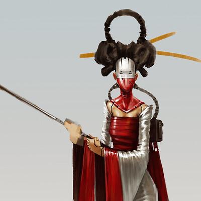 David d m cornish cyber geisha v2 01e