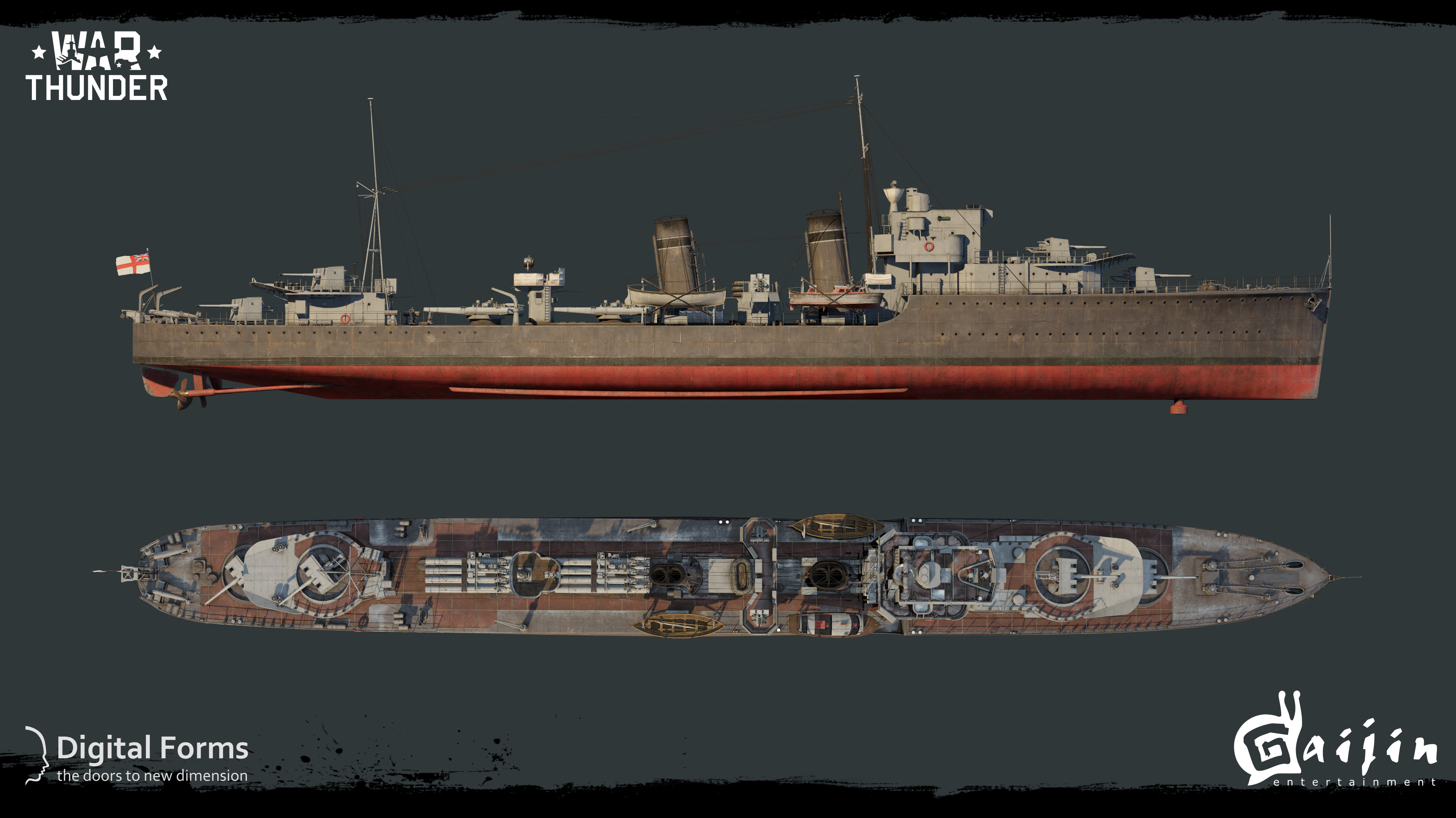Japanese ships war thunder