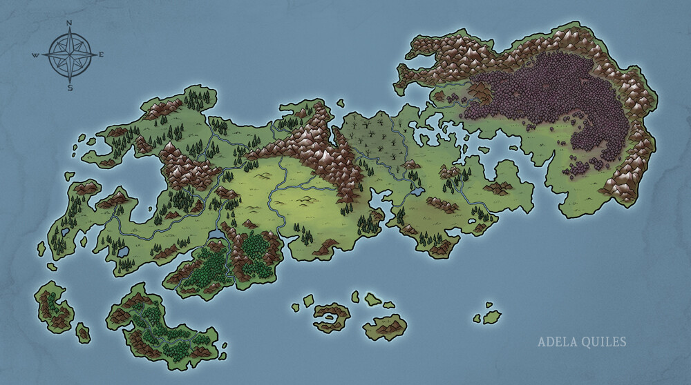 Commissioned map