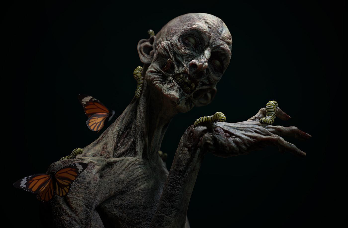 Pablo munoz gomez pmg substance source zombie dark render01