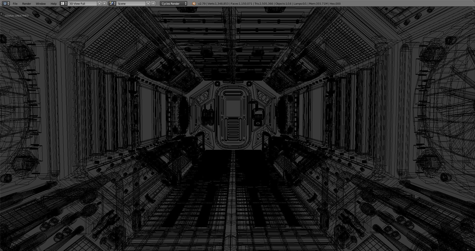 Marcos torres sci fi corridor3