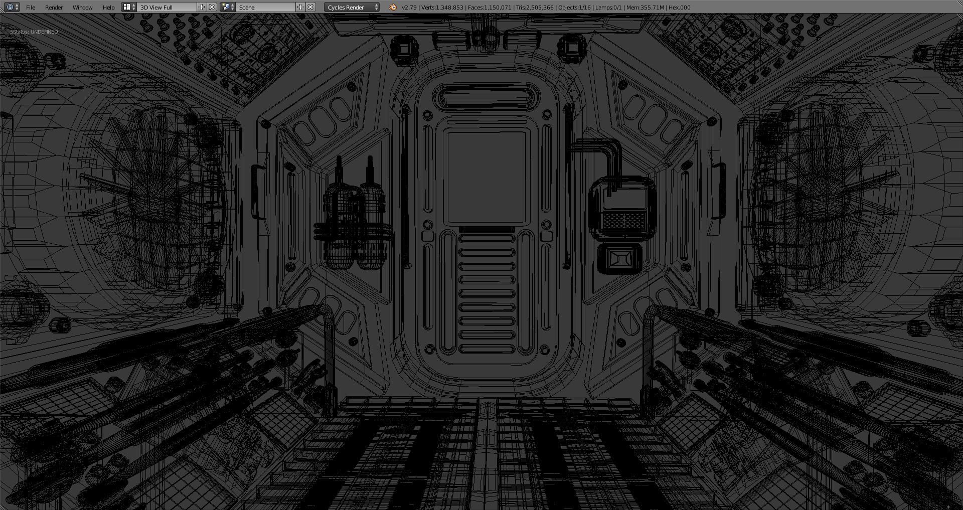 Marcos torres sci fi corridor4