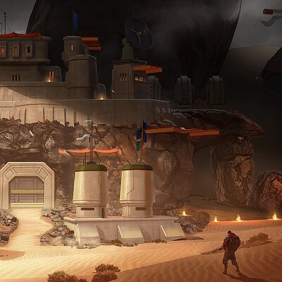 Travis lacey rocky fortress scifi desert survival maysketchaday travis lacey web
