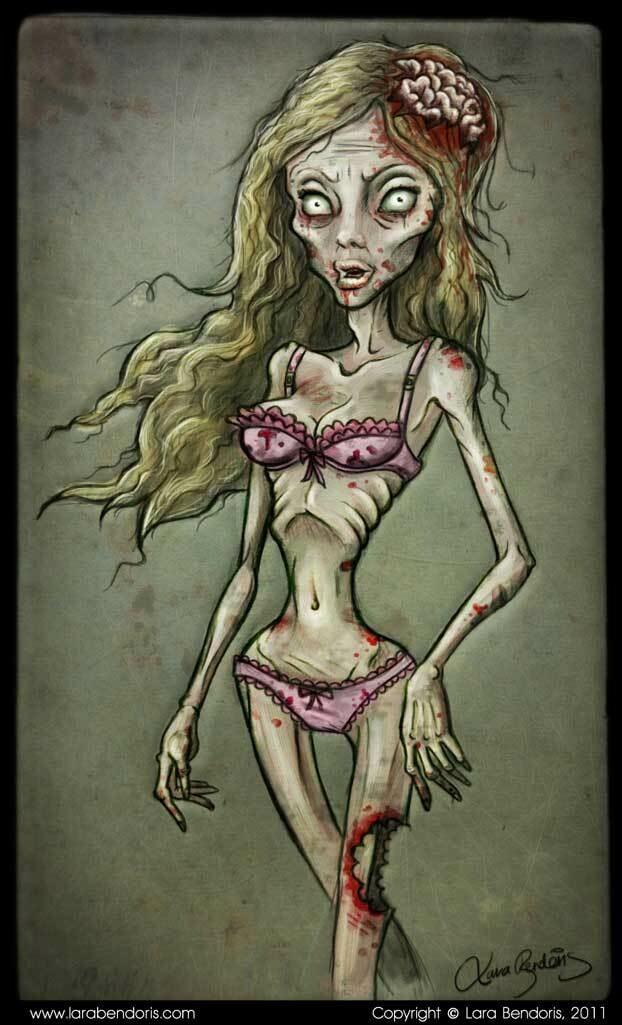 Lara bendoris zombie