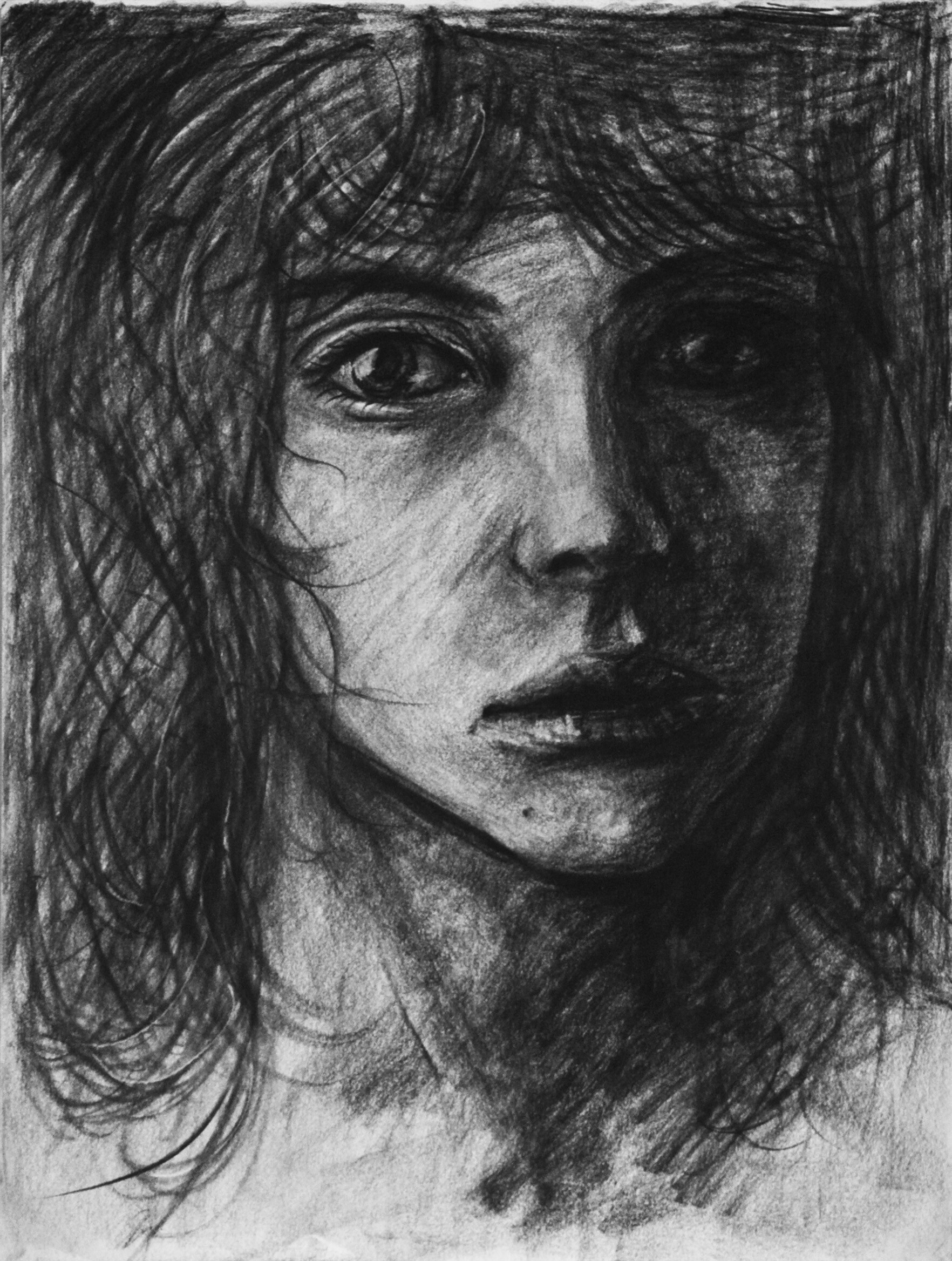 Christopher barischoff charcoal girl
