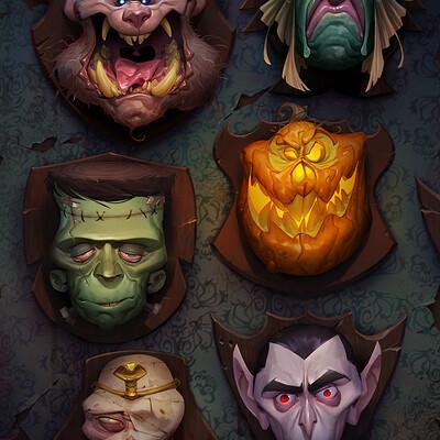 Max grecke halloween wall3