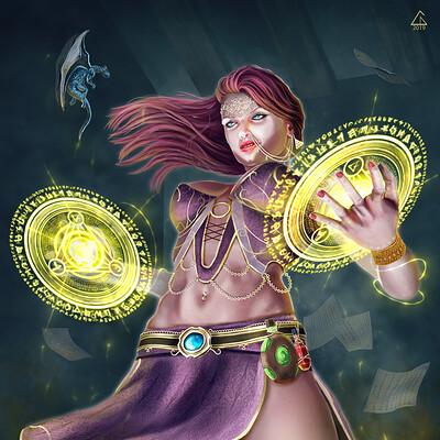 Cagdas demiralp sorcererwoman