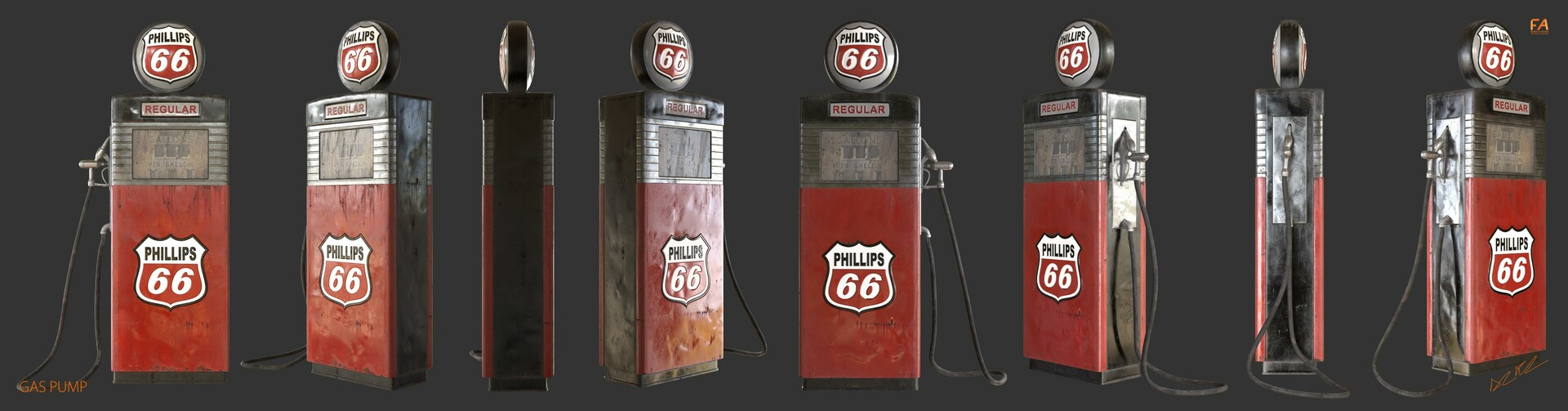 Federico abram gas pump turn