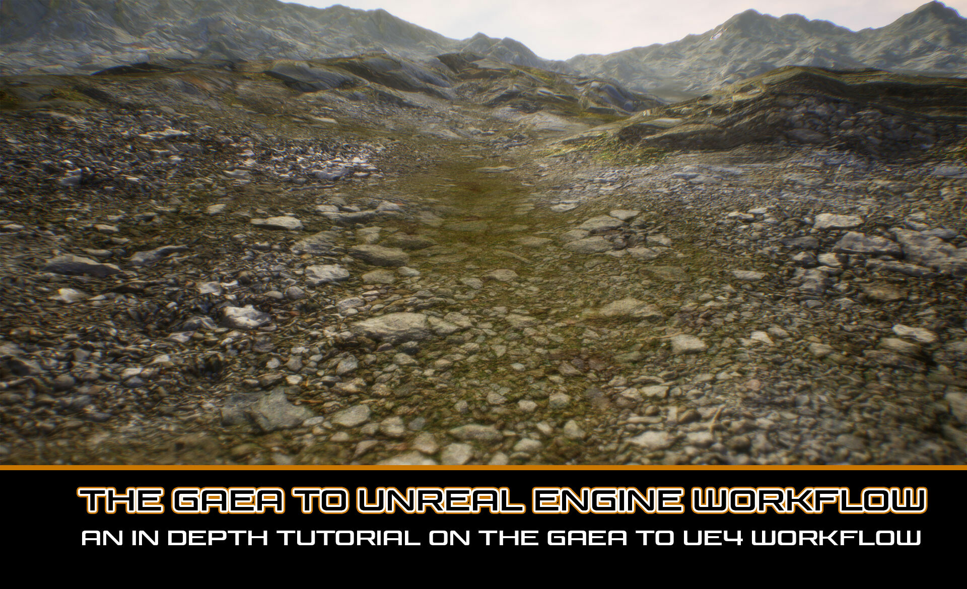 ArtStation - Images from 'The Gaea to UE4 Workflow ', Wayne