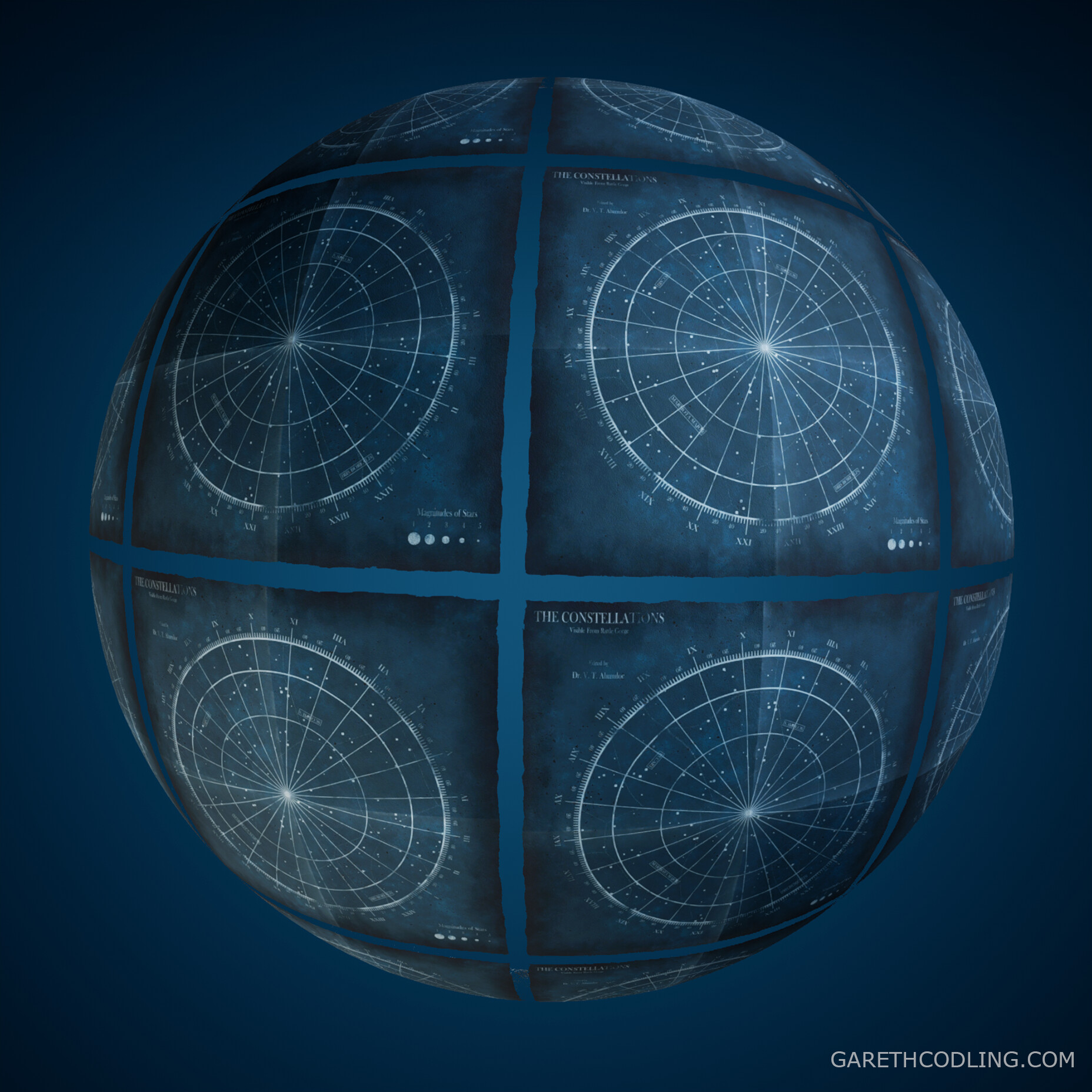 Star Chart Material Ball