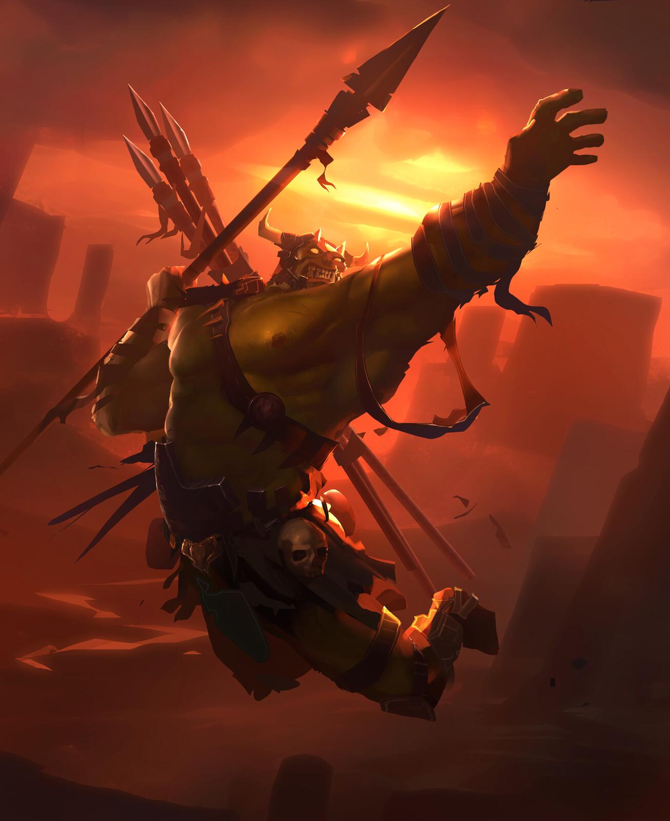 Hex: Crazed Raider