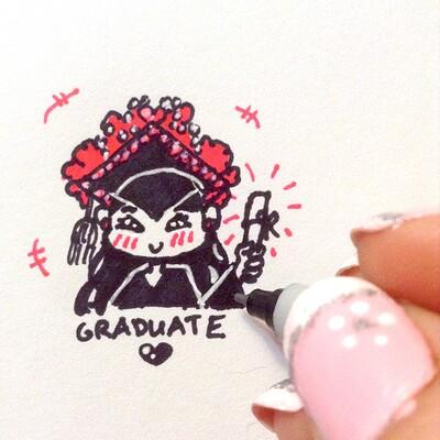 Nasika sakura graduate