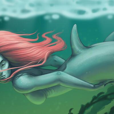 Meagen ruttan mermay shark 07