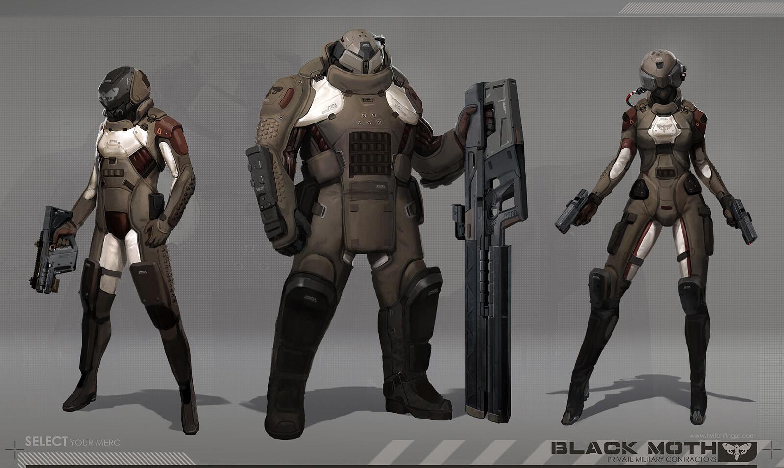 Adrian Majkrzak  Black Moth Concept