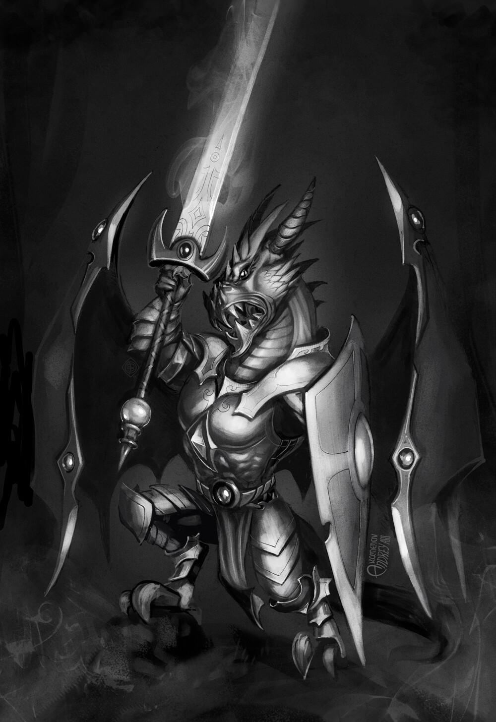 Andrey kamenov dragon warrior 05