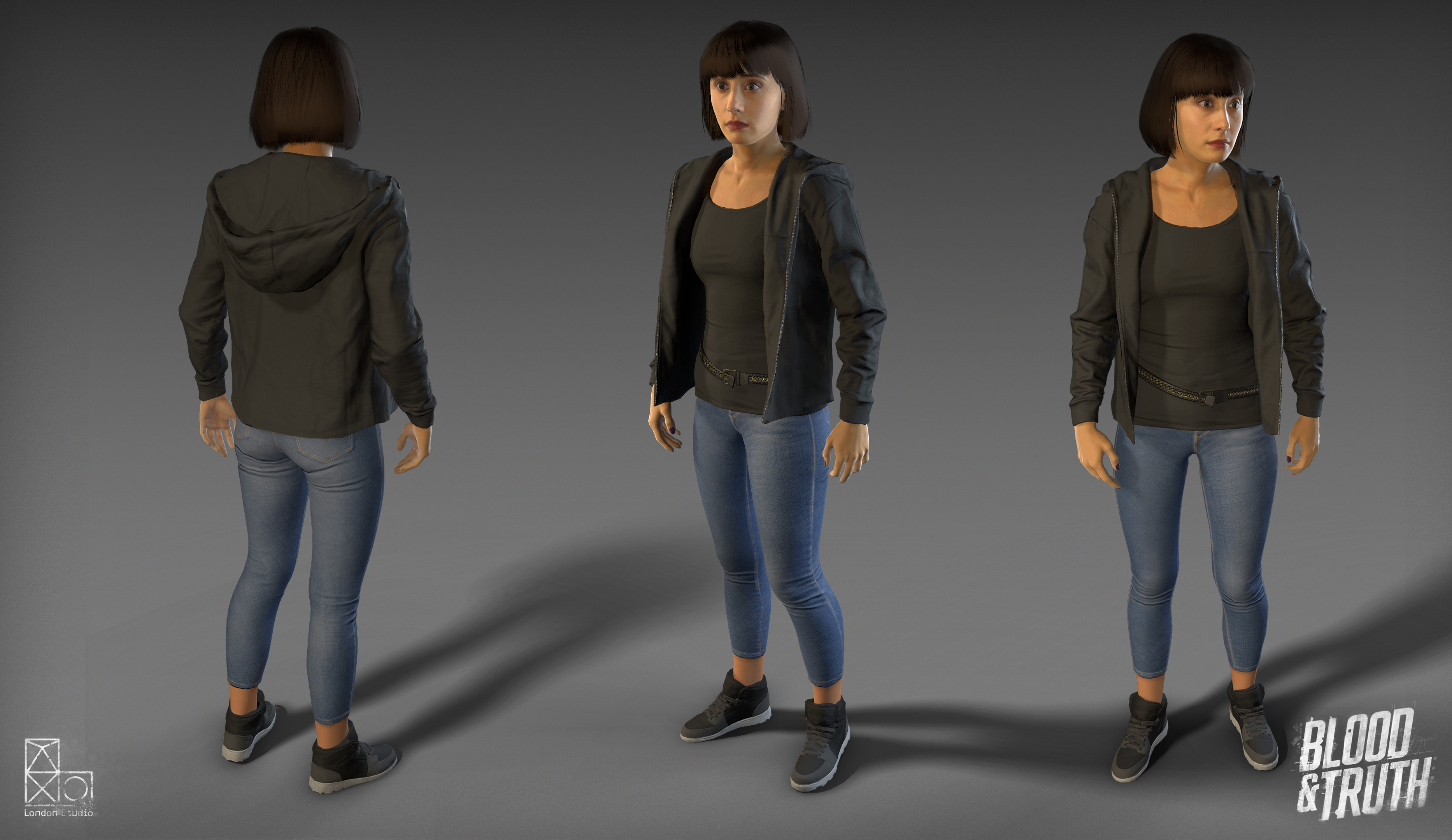 In game Michelle model.