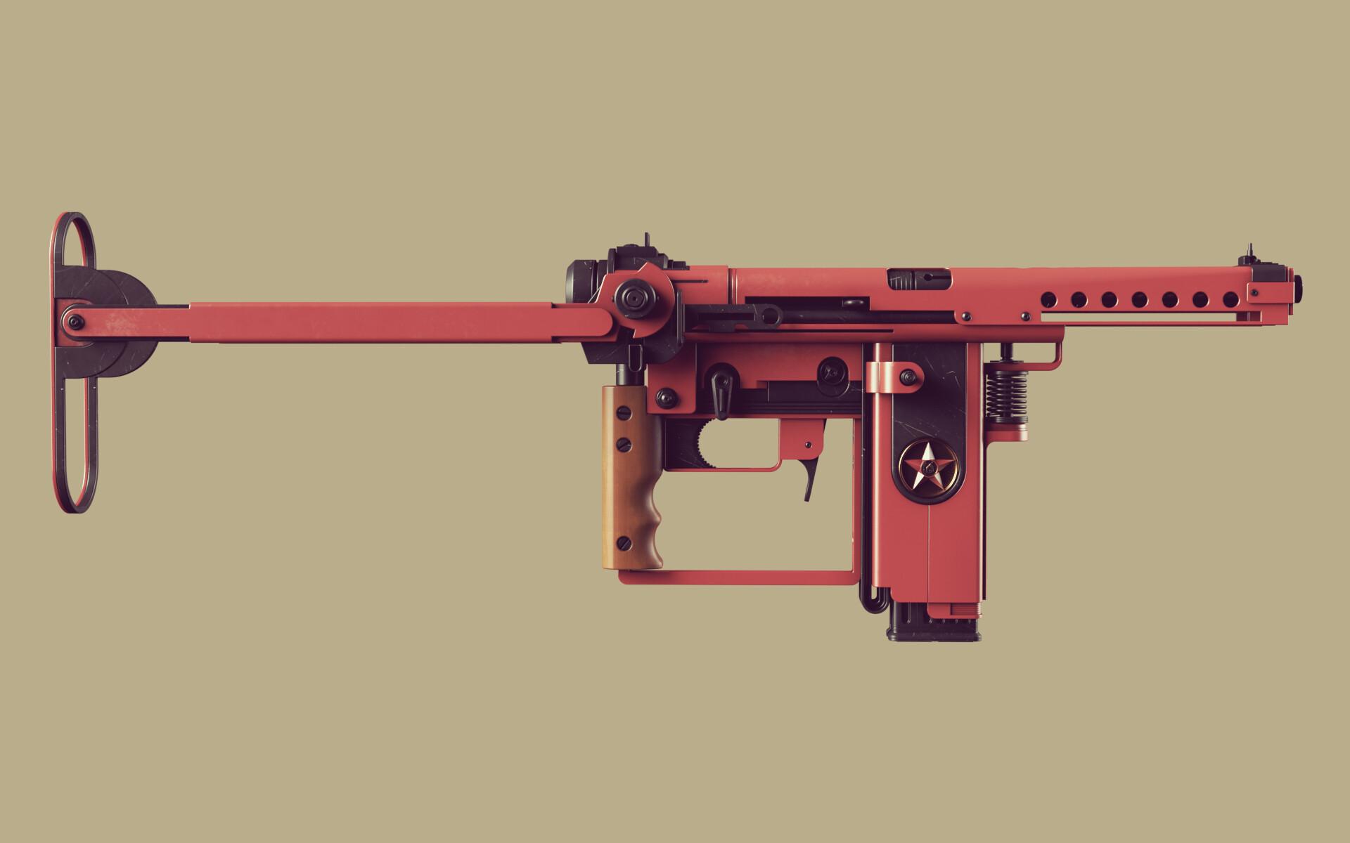 Ben nicholas bennicholas weapon volk machinepistol 01