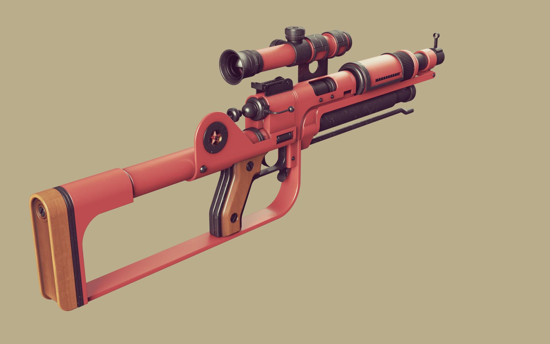 Ben nicholas bennicholas weapon prospekt sniperrifle 06
