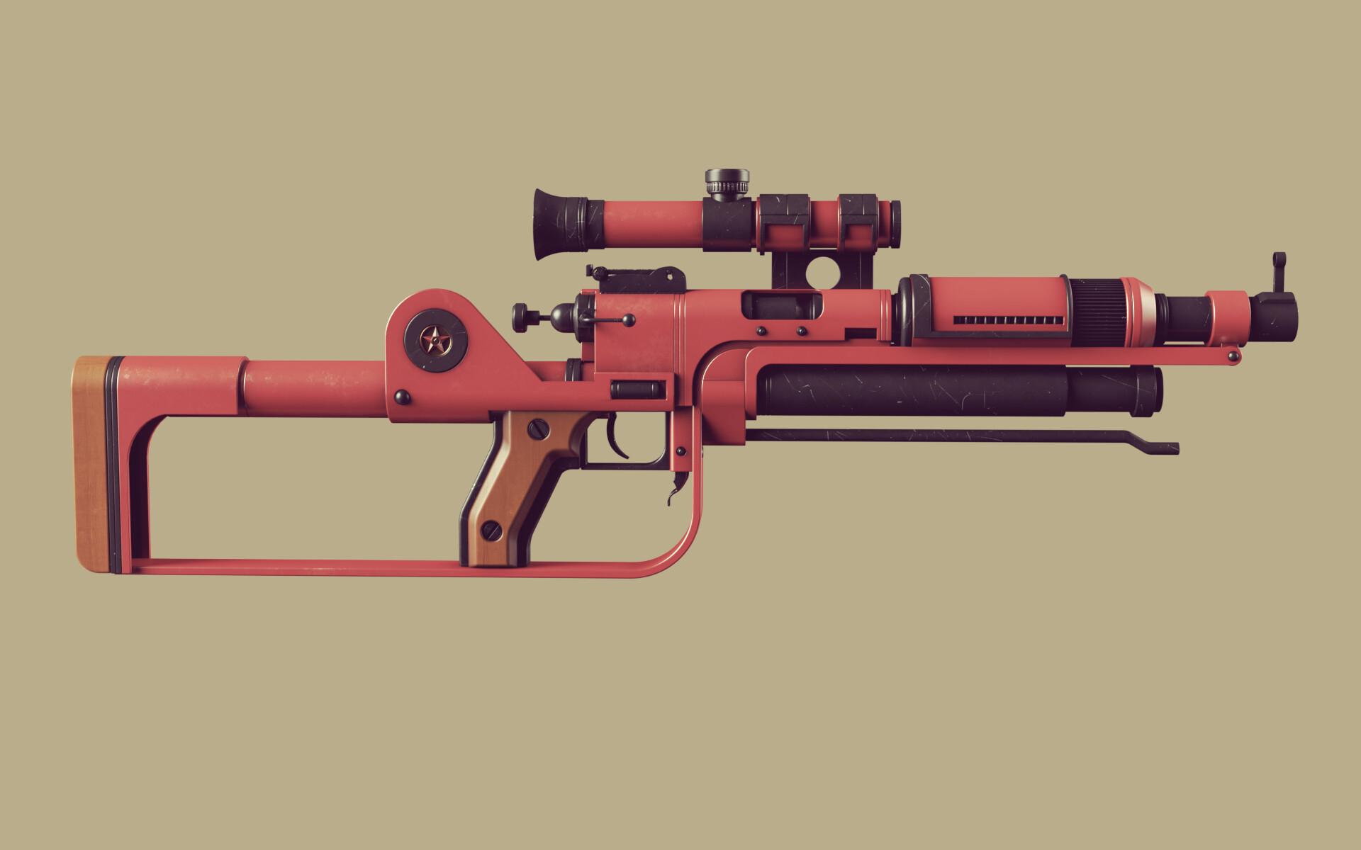 Ben nicholas bennicholas weapon prospekt sniperrifle 02