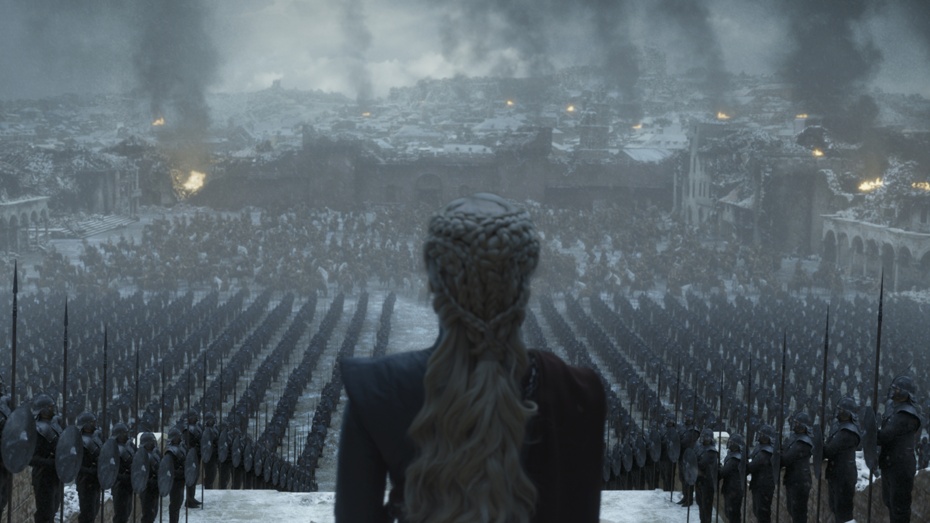 A frame of how the final shot looks in the Episode