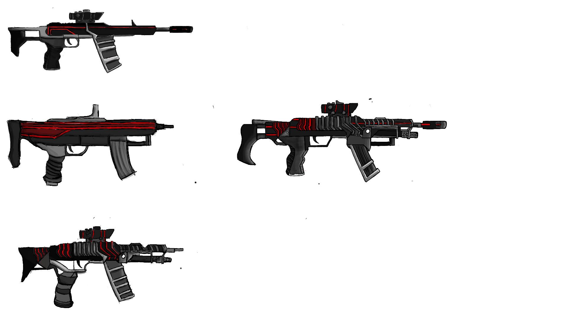 ArtStation - Snake's Gun Callout sheet/Prop Design- Escape