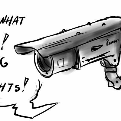 Christina rena surveillance cam