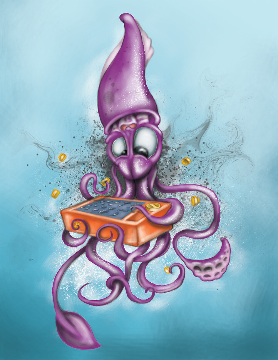 Mike johnston perfection squid
