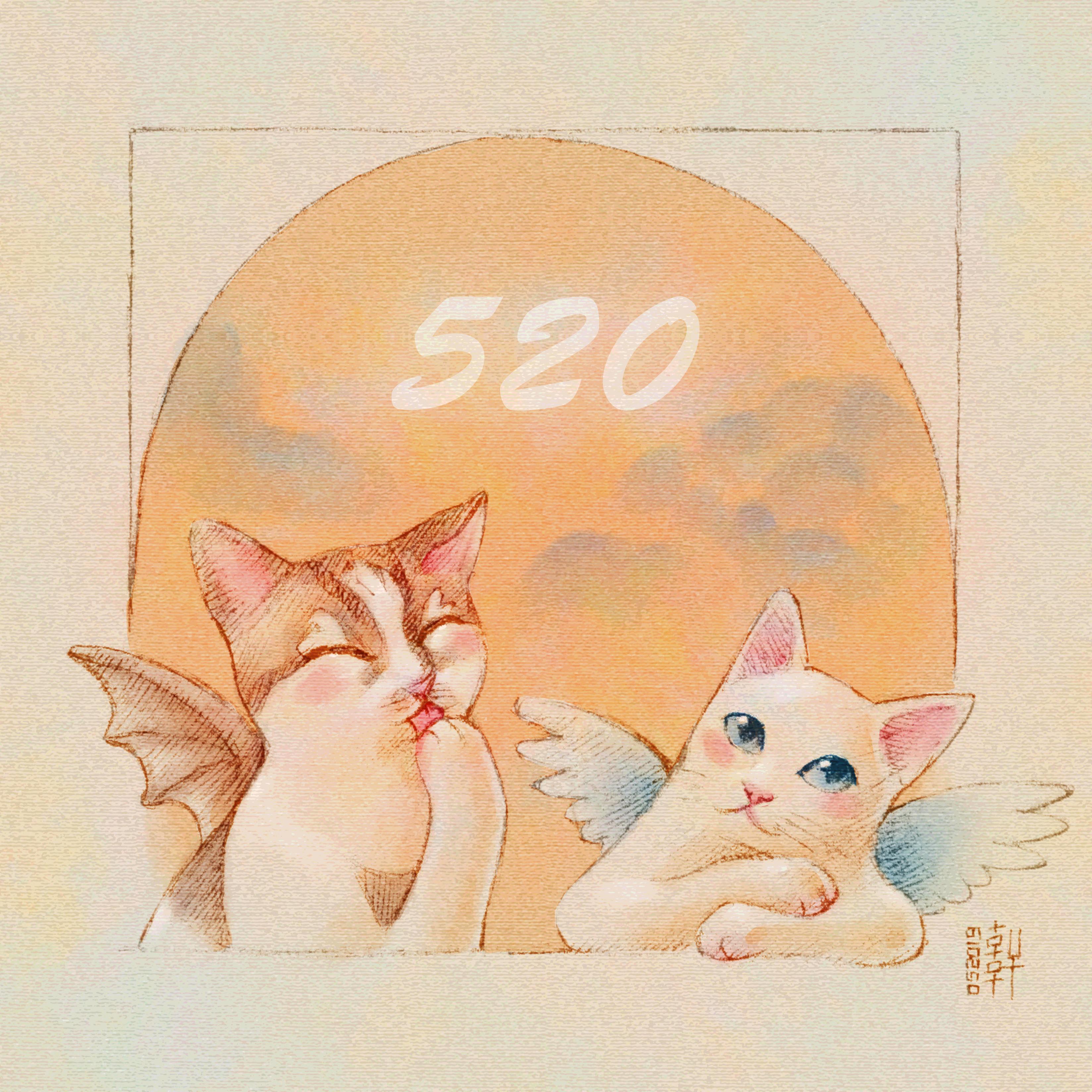 Cherub Cats 520 - WIP