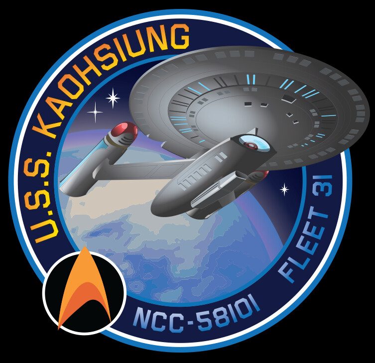 Mike johnston starfleetbadge logo