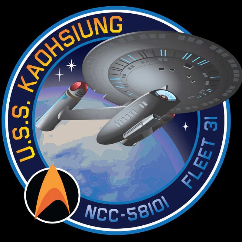 U.S.S.Kaohsiung Fleet Logo