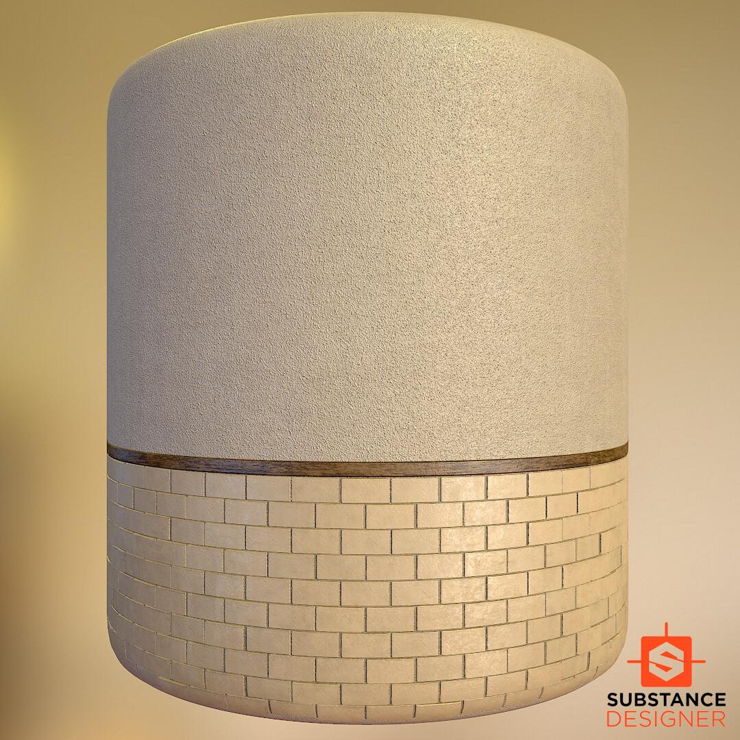 PlasterWall+Tiles