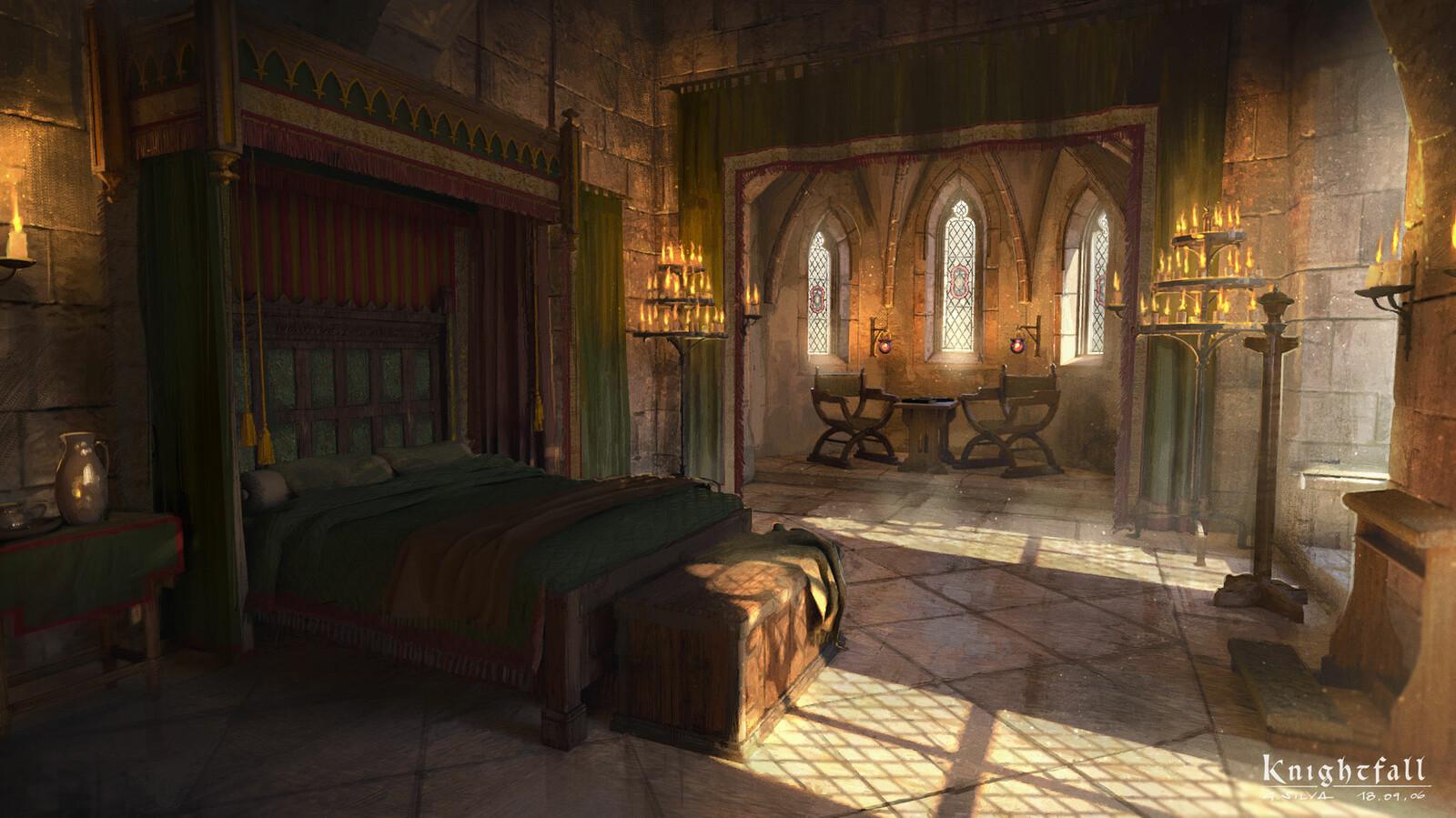 Luis's bedroom