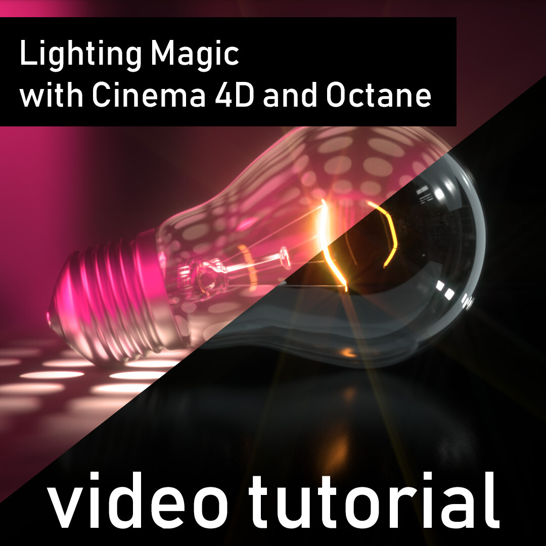 ArtStation - Lighting Magic - Video Tutorial, Janine Pauke