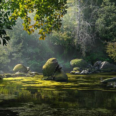 Alfven ato stream