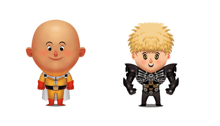 Mike legan one punch and genos