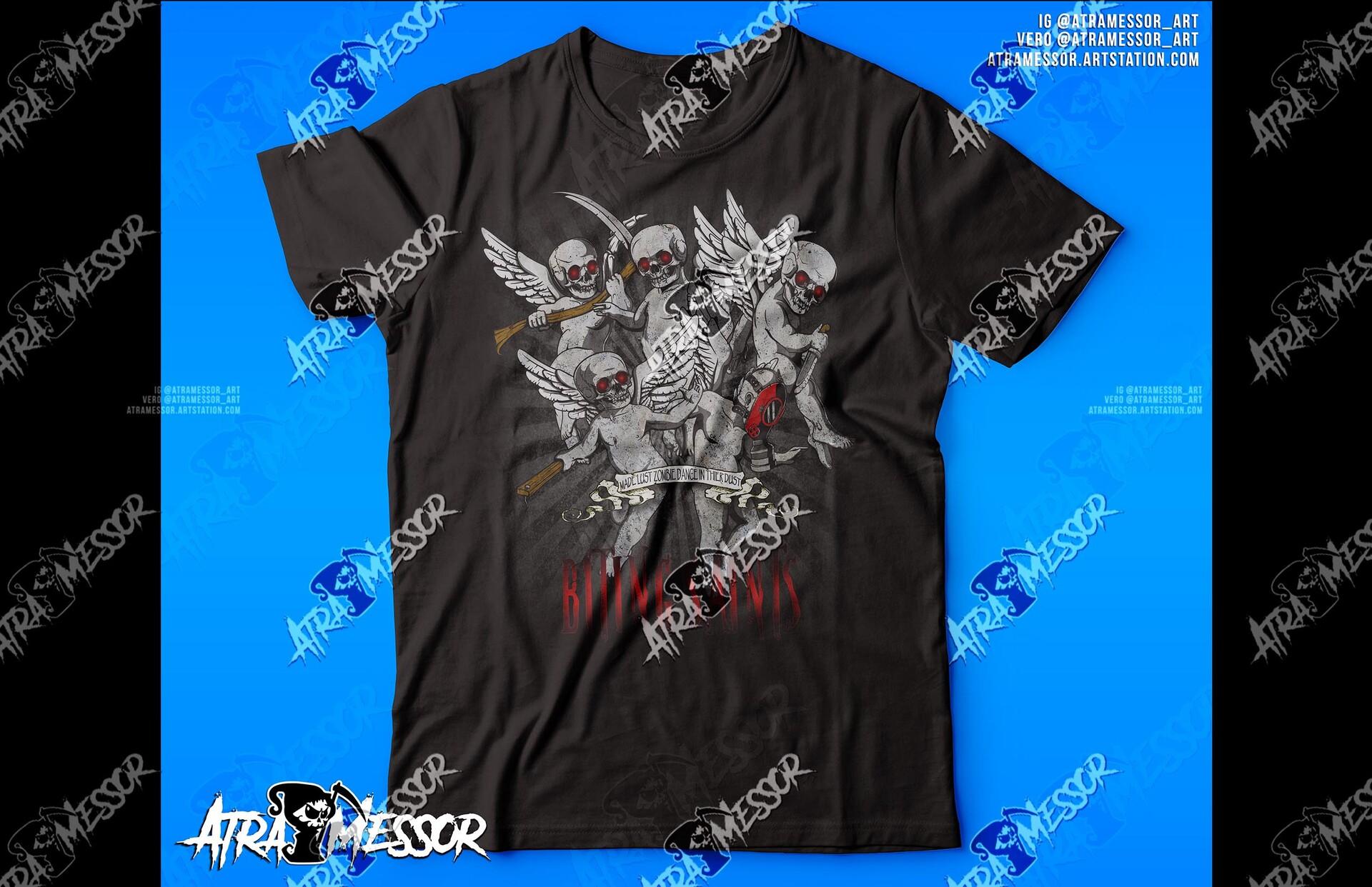 Biting Saints Shirt
