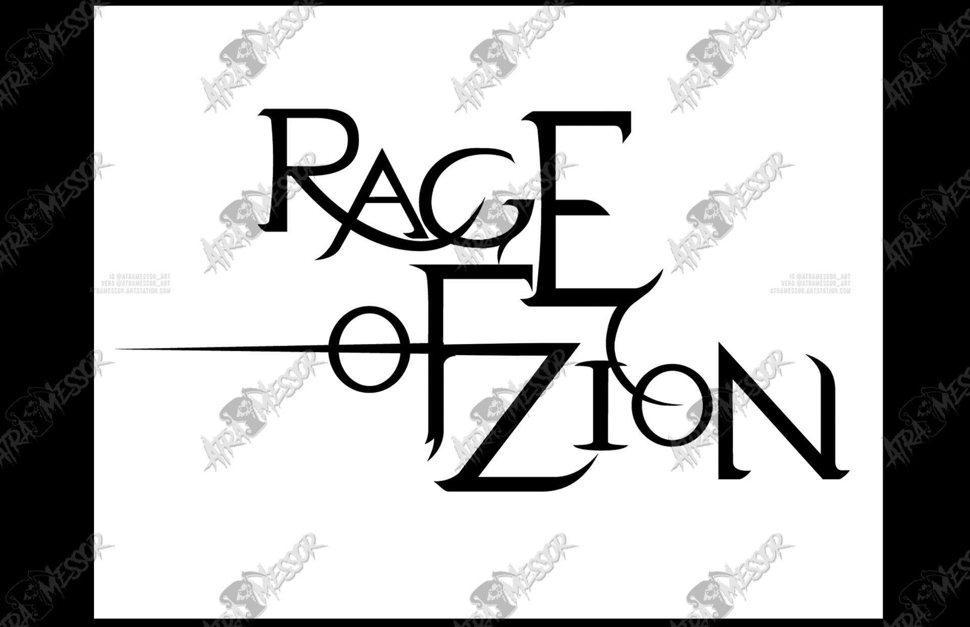 Rage of Zion logo (band)