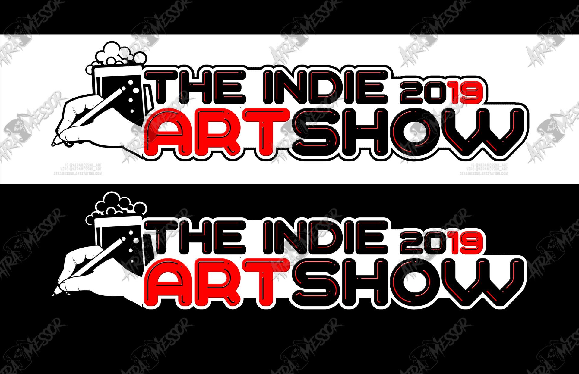 Indie Artshow Logo (commission)