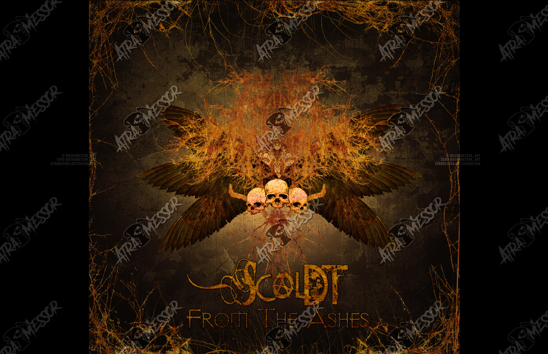 Scoldt From the Ashes Album Art