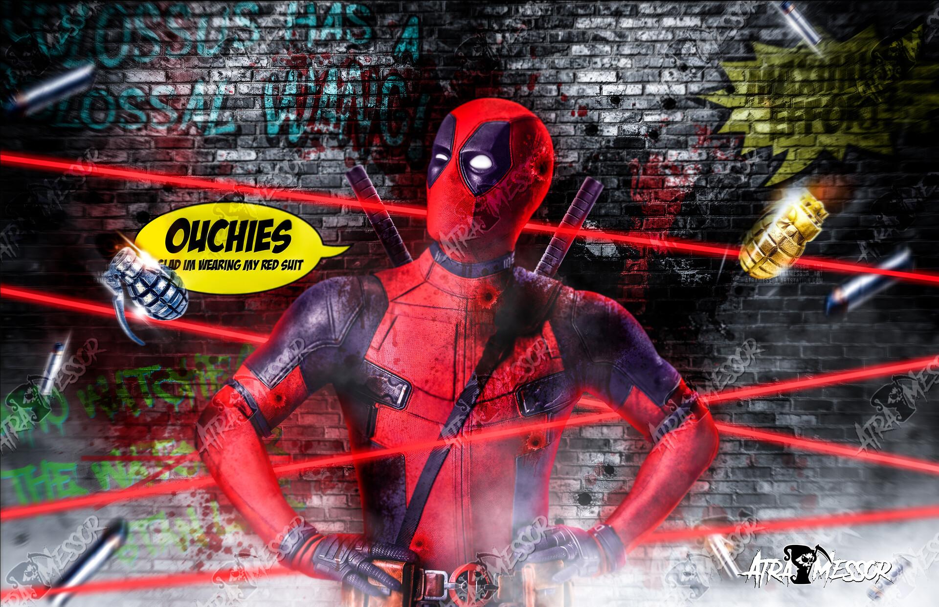 Deadpool Ouchies