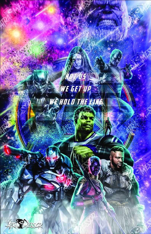 Hulk, War Machine, Okoye, M'baku, Antman (endgame Set)