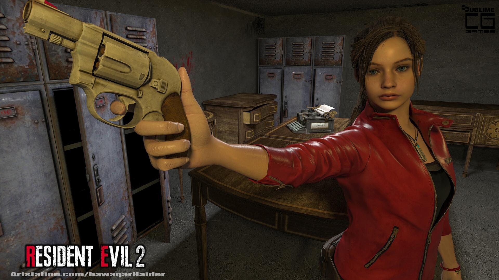 Bawaqar Haider - Claire Redfield - Resident Evil 2 Remake
