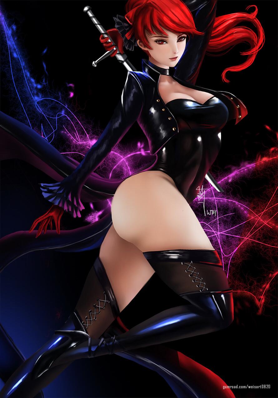 Persona 5 Royal Kasumi
