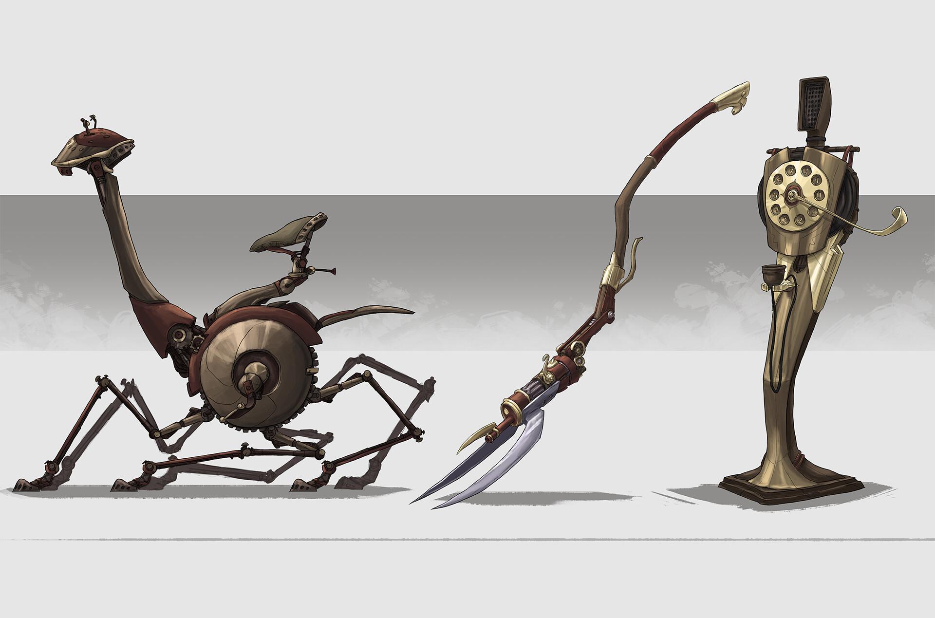 Diego Dominguez Steampunk Designs