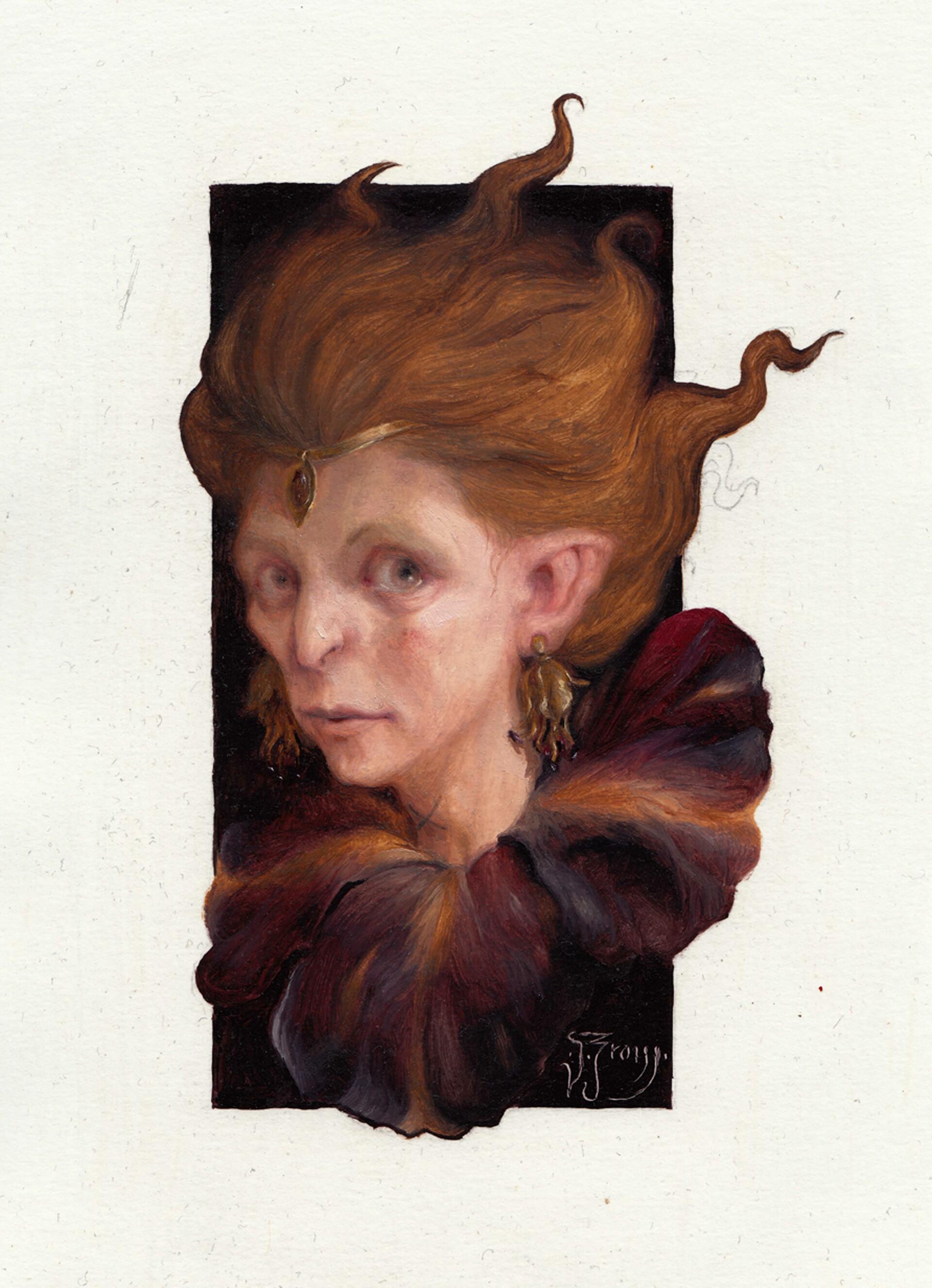 Full Faerie Queene painting
