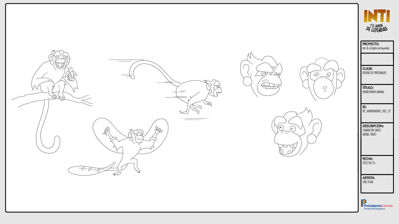 Mono Mono - Character Design /  Character Sheet