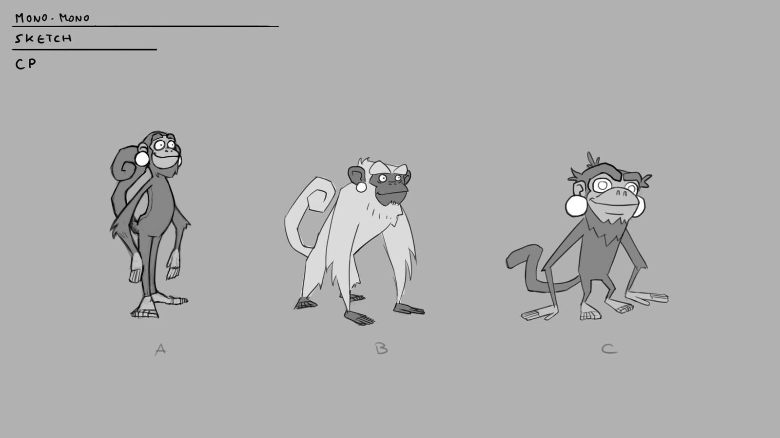 Designs for Mono Mono.